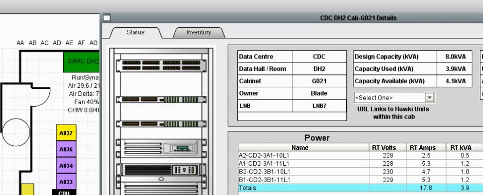 Data Hall Monitoring